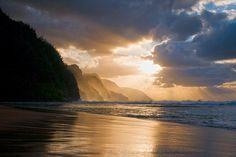 Na Pali coast, Kauai, #Hawaii