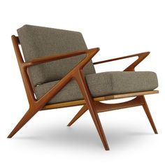 I love the idea of mixing mid century and contemporary styles