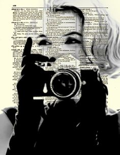 Marilyn Monroe Print Marilyn Monroe with by reimaginationprints, $10.00