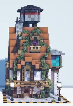 Minecraft Building Designs, Minecraft City Buildings, Minecraft Structures, Cute Minecraft Houses, Minecraft Plans, Minecraft Architecture, Minecraft Blueprints, Minecraft Creations, How To Play Minecraft