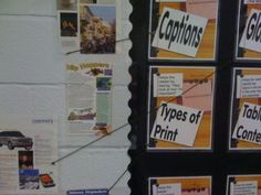 Rip out magazine pages to use for displaying and labeling nonfiction text features.