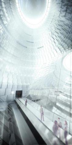 New U.S. Embassy in London - Rendering   Morphopedia   Morphosis Architects
