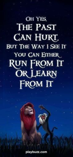 One of the best quotes from one of the greatest Disney movies ever made