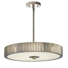 Buy the Sonneman Polished Nickel Direct. Shop for the Sonneman Polished Nickel Paramount 6 Light Pendant with Polished Nickel Shade and save. Drum Pendant, Lantern Pendant, Round Pendant, Pendant Lighting, Light Pendant, Contemporary Pendant Lights, Modern Lighting, Modern Contemporary, Cool Floor Lamps