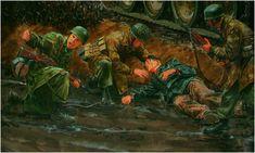 Fallschirmjager of Kampfgruppe Peiper