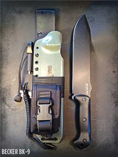 Apocalypse Gear - Becker BK-9 Kydex Survival Sheath