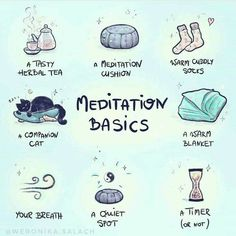 Love this meditation basics list. What's on your meditation list?