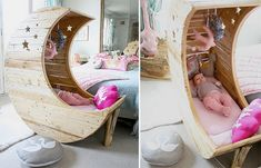 DIY Moon Shaped Cradle | The Owner-Builder Network