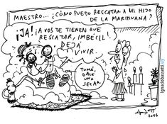 #marihuana #elgurígurú #humorgráfico #historietas #humor #comic #comics www.ignaciobassetti.uy