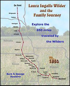 Ingalls family's journey.