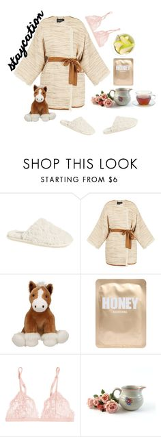 """Finals are over"" by heyyitsmejane ❤ liked on Polyvore featuring Daniel Green, Raoul, INC International Concepts, Lapcos, La Perla, Daphne, fashionset and staycation"