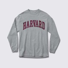 harvard adult Long sleeve T Shirt , made by order, Payment Method Paypal & Credit/Debit card via paypal express checkout.