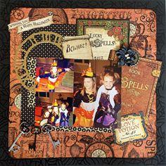 Halloween, Ahhhh!!!  Beware of Cuties - Scrapbook.com