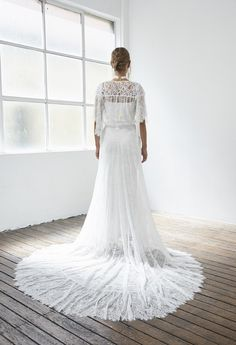 Uber cool and effortlessly chic brides are going to fall head over heels for Blanc - the ultra dreamy new collection from Australian design house Grace Loves Lace. Handmade Wedding Dresses, Designer Wedding Dresses, Bridal Dresses, Sophisticated Wedding Dresses, Most Beautiful Wedding Dresses, Boho Chic, Bohemian, Mod Wedding, Lace Wedding