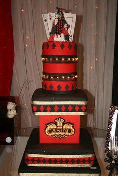 tortas para 15 años de casino las vegas (7) Vegas Cake, Las Vegas, Poker Night, Casino Cakes, Casino Night Party, 15th Birthday, Poker Chips, Let Them Eat Cake, Beautiful Cakes