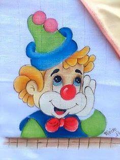 Art Drawings For Kids, Colorful Drawings, Disney Drawings, Drawing For Kids, Cartoon Drawings, Cute Drawings, Art For Kids, Clown Paintings, Indian Art Paintings