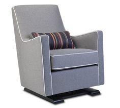 luca glider chair - modern nursery furniture by Monte Design