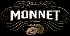 Cognac Monnet Brandmark Illustrated by Steven Noble on Behance