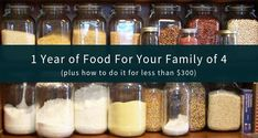 The Best 1 Year Survival Food List for Families people) Survival Food List, Emergency Food Kits, Emergency Food Storage, Emergency Preparedness, Prepper Food, Emergency Supplies, Wise Food Storage, Long Term Food Storage, Storage Ideas