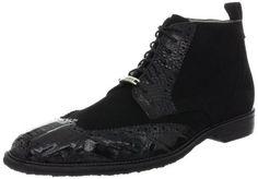 Belvedere Men's Modena Boot Belvedere. $259.95. Upper: Suede/Crocodile. Rubber sole. leather. Fit: True to Size