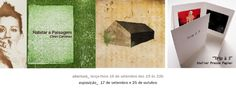 """Última semana! exposição """"Habitar a paisagem"""" de Cleiri Cardoso e coletiva Atelier Presse Papier."""