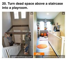 Yes! Perfect for those split foyer homes that have tons of space