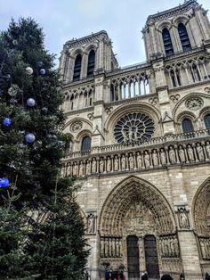 Notre Dame de Paris, We'll always have Paris! Paris in December lifestyle blog post!  #paris #france #travel #blogger #europe