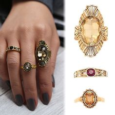 USA 3PCS/Set Antique Vintage Women Gold Midi Above Knuckle Ring Jewerly Wedding