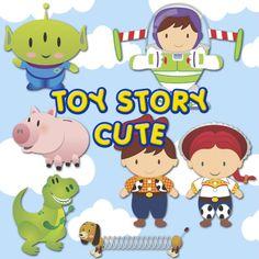 Kit Scrap Digital Cute ToyStory