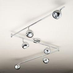2 light led spotlight white chrome spotlights pinterest spotlight led and lights - Spotlight Kitchen Lights
