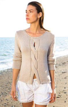 Пуловер CASHSETA от Lana Grossa