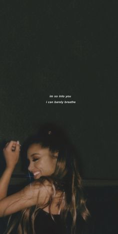Quote from Ariana Grande! Letras Ariana Grande, Ariana Grande Texte, Ariana Grande Quotes, Ariana Grande Lyrics, Quote Aesthetic, Aesthetic Pictures, Aesthetic Style, Aesthetic Pastel, Ariana Grande Wallpaper