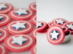 Captain America Cookies