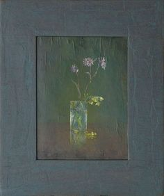 "Flower by Igor Melnikov 12"" x 9"" oil Meyer Gallery"