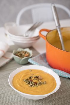 Winter Vegetable Soup Recipe with Butternut Squash & Cauliflower ...