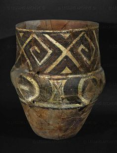 Bronze Age Pottery from Hungary.