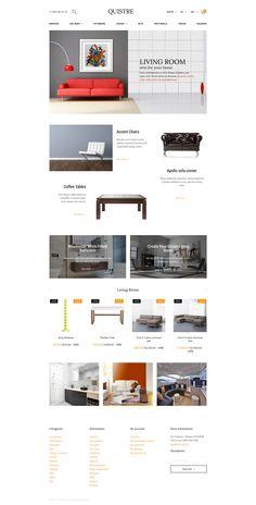 Interior PrestaShop Template http://www.templatemonster.com/prestashop-themes/quistre-interior-prestashop-theme-58341.html