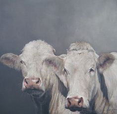 Bilderesultat for kunst annabelle lanfermeijer Paintings I Love, Animal Paintings, Animal Drawings, Cow Pictures, Cow Painting, Cow Art, Western Art, Whimsical Art, Spirit Animal