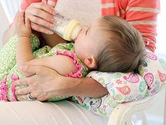 Baby head cushion for Mama's arm