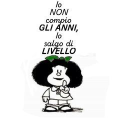 Biglietto Di Auguri Con Mafalda Compleanno Buon Compleanno