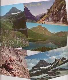 Montana, Glacier National Park scenes