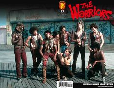 Happy Anniversary 35 years ago today The Warriors opened in theaters, my fav movie of all time..i lived it..thing is..this is not only a movie, this is truth of how it was in new york with gangs fighting against each other, we could not even cross the streets without being on the wrong side until hip hop came along and the treaty..this is hip hop fam..CAN U DIG IT?
