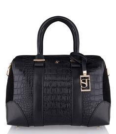De ST Bowler Bag van SuperTrash (€99,95)