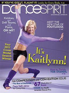 Kaitlynn Edgar, Dance Spirit October 2011