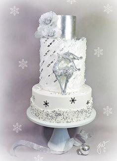 Silver Winter cake