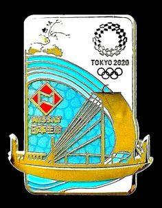 2020 Summer Olympics Tokyo Japan Team USA Sailing Pictogram Metal Lapel Pin