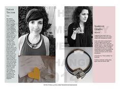 Sara Tector & Isabelle Gereec / The Contemporary Jewelry Exchange
