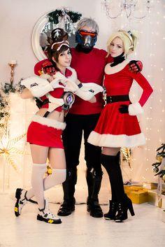 Merry Christmas! - Melamori Mercy Cosplay Photo - Cure WorldCosplay