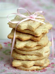 Shortbread! Basic recipe, Scottish, cookie dough roll, Orange-Ginger, and Lemon Shortbread-Cookies