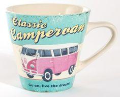 Campervan Mug by Martin Wiscombe from ECP Design Ltd | Made By ECP Design Ltd | £8.99 | BOUF